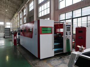1325 1530 500w 750w 1000w 1500w 2000w 4mm màquina de tall automàtica de làser de fibra de ferro de acer inoxidable de 4 mm