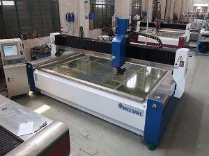 2000 * 1500mm màquina de tall de raig d'aigua CNC CNC de pressió temperada i laminat abrasiu de 380 mpa
