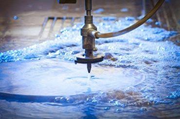Màquina d'aigua inoxidable 3D de 5 eixos Jet d'aigua de tall: impermeables de pressió a alta pressió d'acer inoxidable