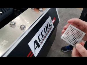 Màquina de tall làser per fibra làser IPG ACCURL 700W per a tall de làser CNC de xapa | Làser intel·ligent ACCURL®