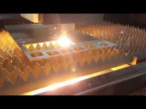 Tall de làser de fibra ACCURL de 12 mm amb màquina de tallar làser per làmines IPG 2kw