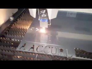 Màquina de tall làser ACCURL IPG 500w 700w - Tall de làser CNC per a acer suau de 6mm