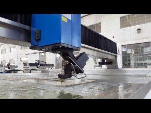 màquina de tall per aigües d'aigua per tall de waterjet, metall, pedra, vidre, acer