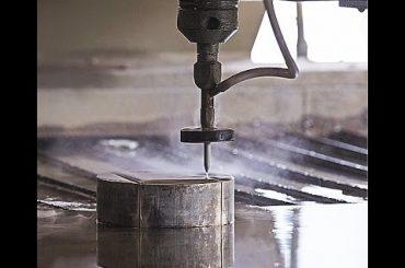 Màquina de tall de jet d'aigua CNC per a tallar acer CNC - Granit - Plàstic