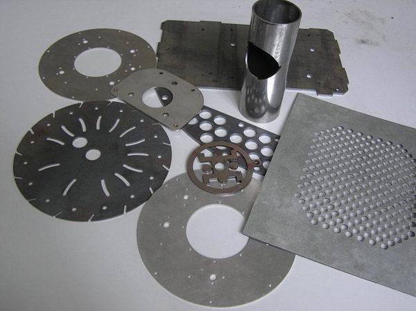Exemple de màquina de tall làser de fibra
