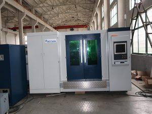 Model de venda calenta màquina de tall làser de fibra 4000w