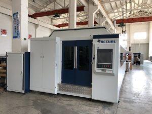Màquina de tall làser de fibra de 1000W ~ 4000W de gran potència per tallar xapes suaus