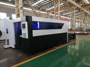 Màquina de tall de ferro de llautó d'alumini de coure de fibra de làser de precisió superior amb preu competitiu