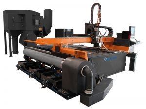 màquina de tall de plasma cnc