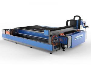 cnc fiber laser cutting machine for metal sheet&tube pipe cutting