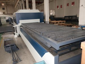 subministrament de fàbrica directament de màquina de tall làser de fibra d'acer al carboni de la Xina