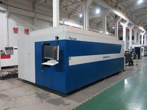màquina de tall d'acer de carboni làser de fibra