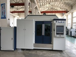 màquina de làser de fibra de 500w de tall metàl·lica de la Xina amb cantell llis del prefecte
