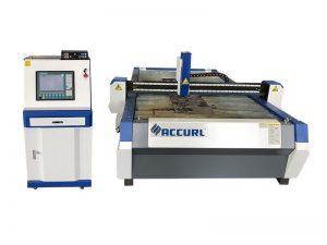 màquina de tall de plasma de cnc de tall de ferro inoxidable metàl·lic a la venda