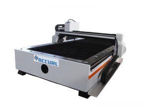 Màquina de tallador de plasma de tall de cnc de router cnc metàl·lic per a la venda en calent