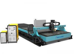 màquina de tall de plasma de tall d'alumini cnc de tub d'alumini d'acer