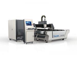 màquina de tall làser de làmina de metall de tall de fibra barata preu 800w