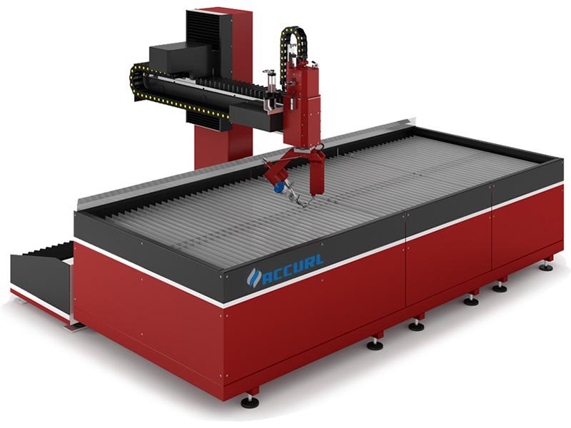 màquina de tallar raig d'aigua