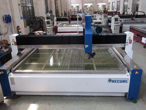 màquina de tall d'aigua per tallar vidre amb les certificacions CE TUV ISO9001 aplicades a la norma